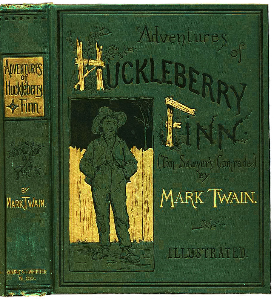 Huckleberry Finn book