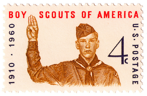 Stamp US 1960 4c Boy Scouts of America