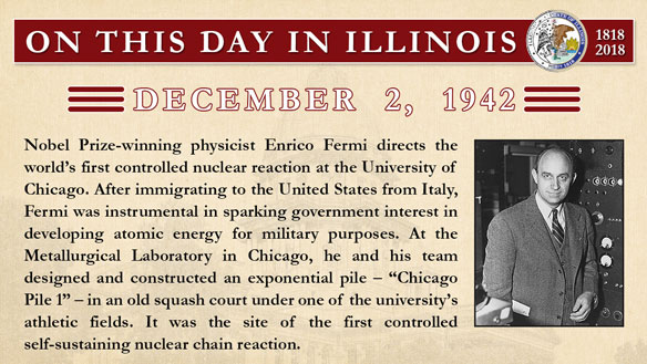 on this day 120218 Fermi sm
