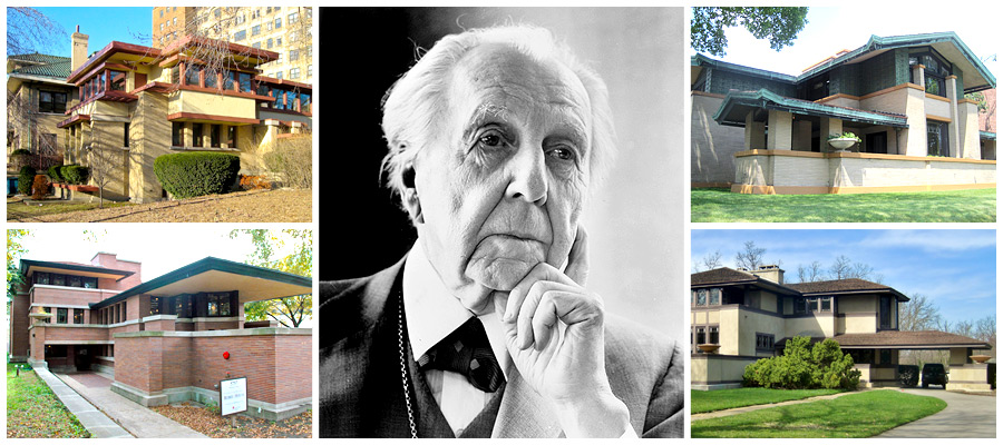 Frank Lloyd Wright: The poetry of Illinois architecture