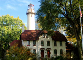 Did You Know? Illinois is home to the Grosse Point Lighthouse