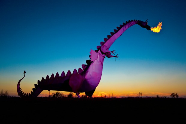 Did You Know? Illinois has its own fire-breathing dragon